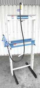 Nice Spx Otc 10 ton H frame Shop Press W 2 speed Hydraulic Hand Pump 1887