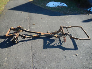 1961 Buick Lesabre Invicta Frame With Front Suspension Solid Frame W A Arms 61