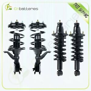 Front And Rear Complete Struts Assembly For 2001 2002 2003 2004 2005 Honda Civic
