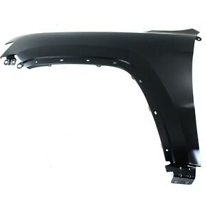 Fender For 2011 2017 Jeep Grand Cherokee Front Lh With Molding Holes Capa