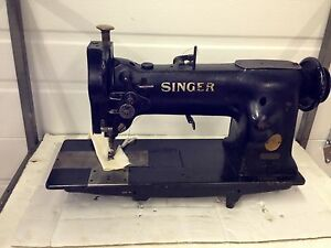 Singer 111w106 Needle Feed With Edge Cutter Industrial Sewing Machine