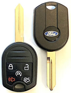 Set Of 2 Ford 2007 2017 Remote Head Key 5 Button 80 Bit Top Quality Usa Seller
