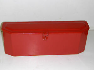 Massey Ferguson Tractor Tool Box Red oem Style