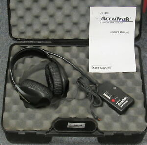 Kent Moore J 41416 Accutrak Ultrasonic Leak Detector Tool Kit