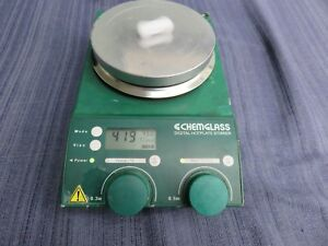 Chemglass Digital Hot Plate Magnetic Stirrer Hotplate Guaranteed Loc 07