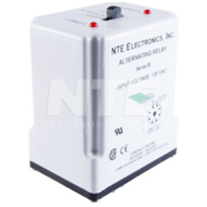 Nte Electronics R66 5a10 120 Relay alternating Spdt 120vac 10a 8 pin