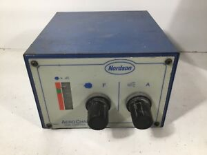 Nordson Aerocharge Powder Coating System Gun Control Unit 1017299a