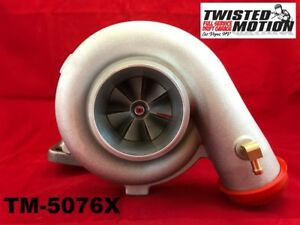 Tm 5076x T3t4 Turbo Big Wheel Compact Housing Ar48 Quick Spool 76mm Big Wheel