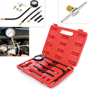 0 100psi 0 7 Bar Fuel Injection Pump Injector Tester Petrol Test Pressure Gauge
