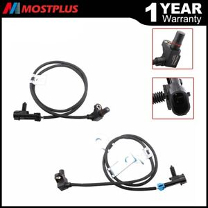 Abs Wheel Speed Sensor Front L R For Chevy Express Avalanche Silverado 1500 2500