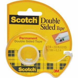 15 Pack 3m Company Tape Double Stick 1 2 X 250