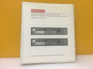 Keithley 236 900 01 236 Source Measure Unit 237 High Voltage Source Manual