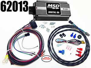 Msd Ignition 62013 Black Digital 6a Ignition Control Box New