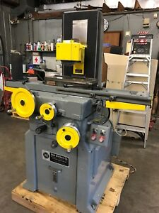 Reid 2 Axis Hydraulic 6 X 18 Surface Grinder W Walker Magnetic Chuck usa