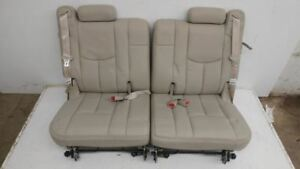 03 04 05 06 Escalade Yukon Tahoe Denali Shale Leather 3rd Row Seats Back Seats