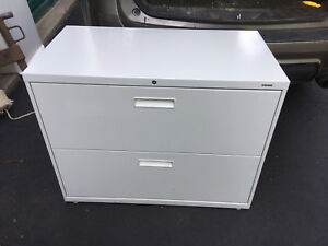 Hon Brigade Series 36 X 28 2 drawer Lateral File Cabinet White