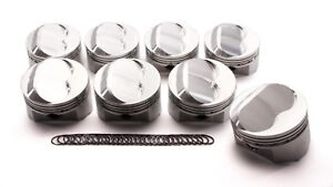 Srp Sbc Domed Piston Set 4 030 Bore