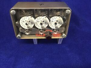 Yale 3 Movement Time Lock Assembly On Custom Made Mount