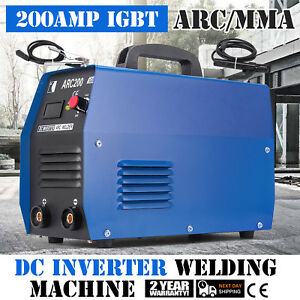 Arc 200 200 amp Stick Welder Mma Arc Dc Inverter Welding Machine Igbt 110 220v