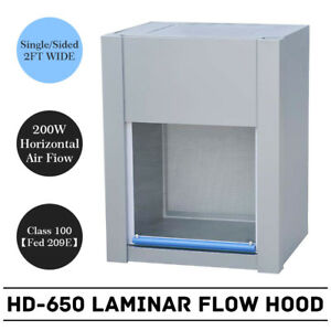 Hd 650 New 60cm Clean Bench Workstation Horizontal Laminar Flow Hood 110v 60hz