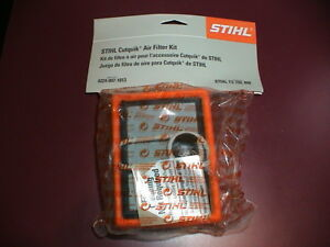 New Oem Stihl Concrete Cut off Saw Cutquik Air Filter Cleaner Kit Ts700 Ts800