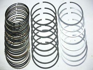 Ford 289 302 Buick 322 Chevy 327 Cu In Standard Piston Rings