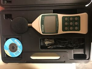 Extech 407750 Sound Level Meter Digital W rs232 1282