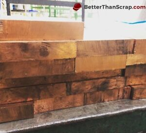 Copper 642 Plate 1 Thick X 4 5 16 Wide X 4 15 16 Long