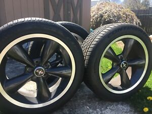 2008 2009 Ford Mustang Bullitt Oem Genuine Wheels Tires Rare Gt