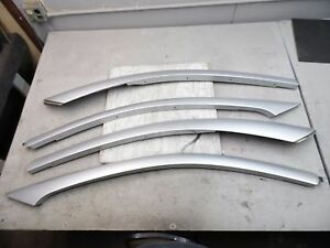 Oem 03 04 Saturn Ion 2 Sedan 4 Dr Set Of Silver Exterior A C Pillar Cover Panel