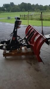 7 6 Boss Snow Plow With Harness And Bracket