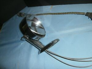 Vintage Mopar 1962 Chrysler Remote Side Mirror D60078 401