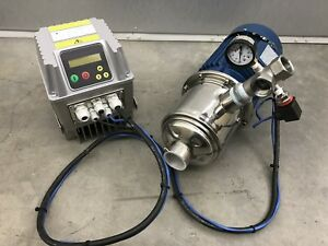 New Aqua Pro Pump Systems 3 5hp 74gpm Stainless Steel Booster Pump