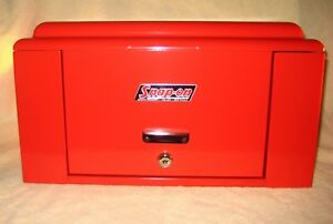 Rare Vintage Snap On Tools Corp Chest K60 Anv Mint Perfect Condition With Keys