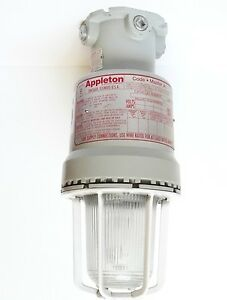 Appleton Explosion Proof High Pressure Sodium Light Fixture Industrial 16k Lumen