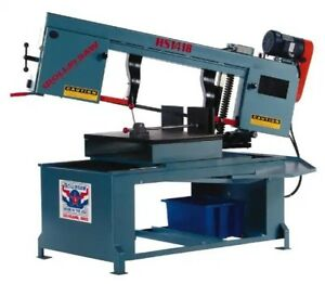 Roll in Mitering Band Saw 14 X 14 Horizontal Dual Swivel hs1418