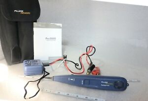 Fluke Pro3000 Analog Tone And Probe Testers Fluke Networks 26000900