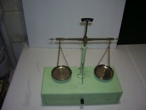 Vintage Collectible Balance Scale Made In West Germany With Drawer