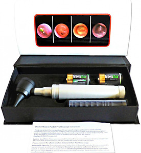 Dr Mom Led Pro Otoscope Full Size Otoscope With Our Largest Diameter Optical G