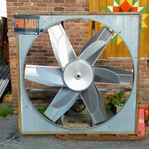 60 Inch Dayton Heavy Duty Belt Drive Exhaust Barn Fan