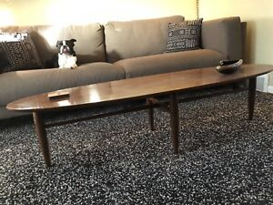 Mersman Surfboard Coffee Table