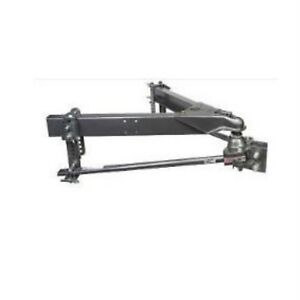 Husky Towing 33092 Round Bar Hitch Built In Sway Control 800 To 1200 Lb Gross