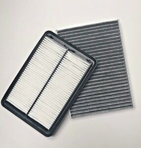 Combo Carbonized Cabin Engine Air Filter For Nissan Rogue And Rogue Sport 14 19