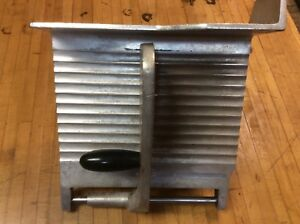 Berkel Meat Slicer 827 Meat Table Pusher Assembly And Carriage Support