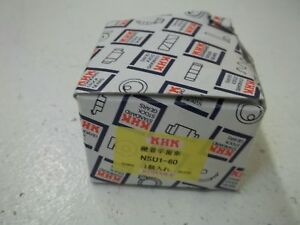 Khk Nsu1 60 Plastic Spur Gear With Steel Core new In Box