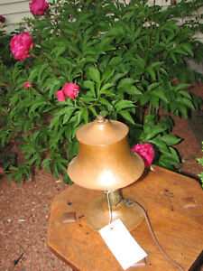 Antique Arts Crafts Hammered Copper Table Lamp W2321 Stickley Era