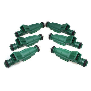 4pack Fit Audi Ford Vw Ev1 Replaces New 440cc 42lb Fuel Injectors 0280155968