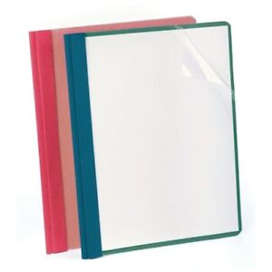 Oxford Recycled Clear Front Report Covers Letter 8 50 Width X 11 57872