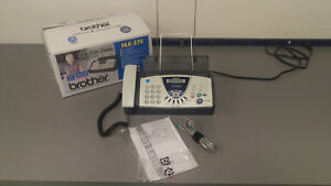 Brother Fax Machine 575 Fax Phone And Copier Office Unit See Details
