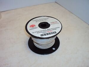 Tempco Ldwr 1014 100 Spool Mg High Temp Nickel Plated Awg12 Stranded Lead Wire